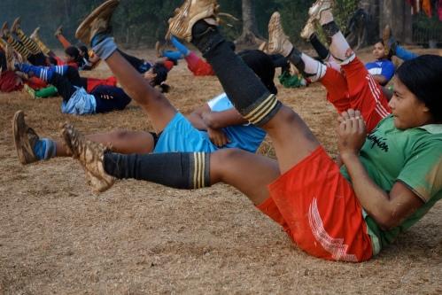 Enligt Joakim var tjejernas träning enormt ambitiös
